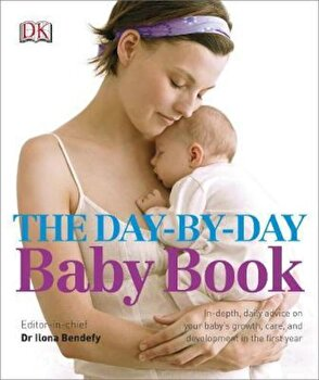 Day-by-Day Baby Book, Hardcover/Ilona Bendefy poza cate