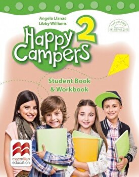Happy campers. Student Book, Workbook. Clasa a II-a/***