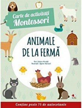 Carte de activitati Montessori. Animale de la ferma/*** imagine
