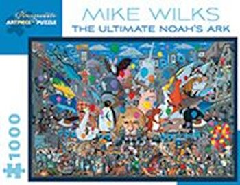 Mike Wilks the Ultimate Noahs Ark 1000-Piece Jigsaw Puzzle, Hardcover/*** image0