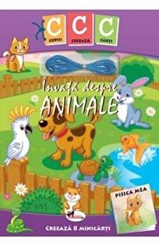 Coperta Carte Invata despre animale