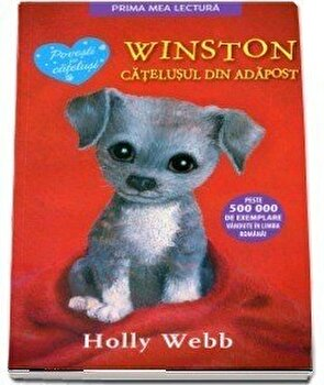 Winston, catelul din adapost/Holly Webb