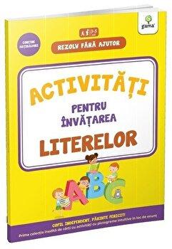 Coperta Carte Activitati pentru invatarea literelor 3-4 ani