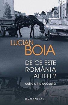 De ce este Romania altfel' Ed. 2016/Lucian Boia poza cate