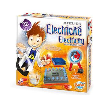 Set educativ - Atelier de electricitate, 22 circuite