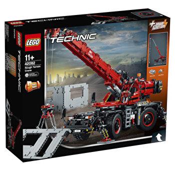 LEGO Technic 2 in 1, Macara pentru teren dificil 42082