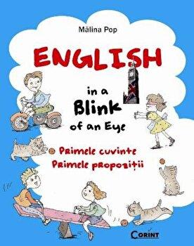Coperta Carte English in a Blink of an Eye. Primele cuvinte. Primele propozitii