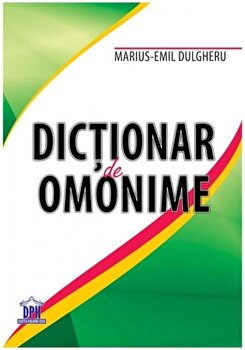 Dictionar omonime/*** imagine elefant.ro 2021-2022