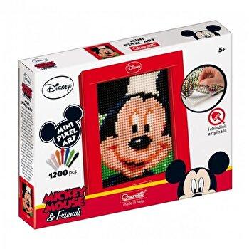 Mini Pixel Art - Tablou mozaic Mickey Mouse, 1200 piese
