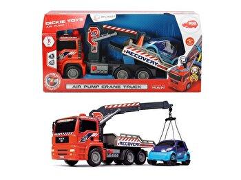 Camion tractare cu macara air pump, 31 cm