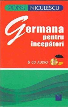 Germana pentru incepatori cu CD/Angelika Lundquist-Mog imagine elefant.ro