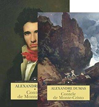 Contele de Monte-Cristo. Volumele 1 si 2/Alexandre Dumas imagine