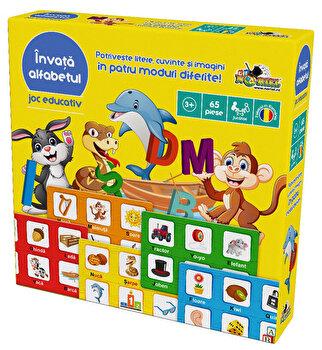 Joc educativ Invata alfabetul