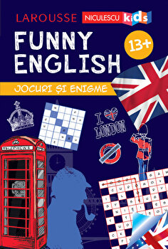 FUNNY ENGLISH. Jocuri si enigme 13+/Sandra Lebrun imagine