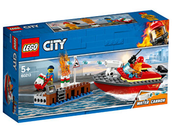 LEGO City, Incendiul de la docuri 60213