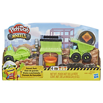 Play-Doh, Set Wheels - Curtea cu pietris