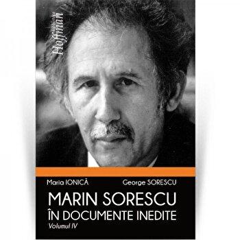 Coperta Carte Marin Sorescu in documente inedite, Vol 4