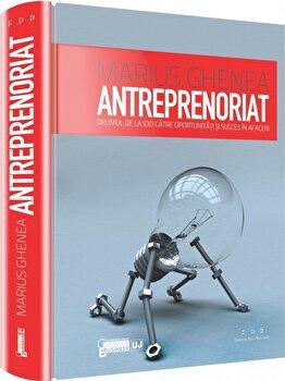 Antreprenoriat. Drumul de la idei catre oportunitati si succes in afaceri/Marius Ghenea imagine elefant.ro 2021-2022