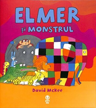 Elmer si monstrul/David McKee