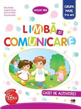 Limba si comunicare. Caiet de activitati. Grupa mare (5-6 ani)/***