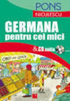 Germana pentru cei mici & CD audio/*** imagine elefant 2021