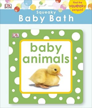 Squeaky Baby Bath: Baby Animals/*** poza cate