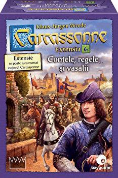 Carcassonne - extensia 6, Contele, regele si vasalii