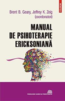 Coperta Carte Manual de psihoterapie ericksoniana