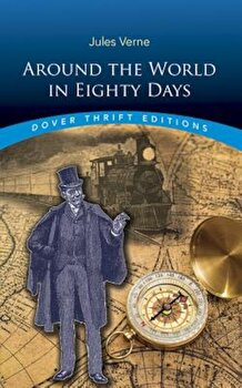 Around the World in Eighty Days, Paperback/Jules Verne poza cate