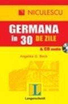 Germana in 30 de zile si CD audio/Angelika G. Beck imagine elefant 2021
