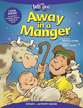 Away in a Manger Story + Activity Book, Paperback/Terry Julien image0