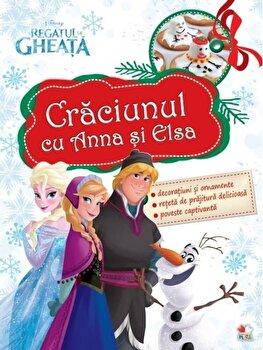 Coperta Carte Craciunul cu Anna si Elsa
