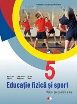 Manual. Educatie fizica si sport. Clasa a V-a (supliment CD)/***