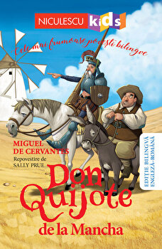 Don Quijote de la Mancha/repovestire de Sally Prue
