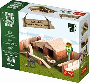 Brick Trick - Cotet pentru caini, 35 caramidute ceramice