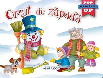 Pop-up-Omul de zapada/Colectiv Susaeta