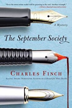 The September Society, Paperback/Charles Finch poza cate