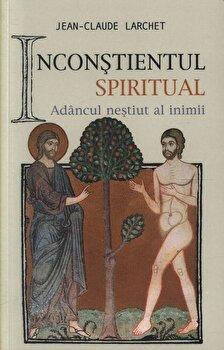 Coperta Carte Inconstientul spiritual sau Adancul nestiut al inimii