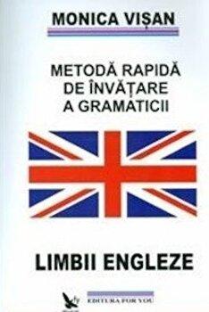 Metoda rapida de invatare a gramaticii limbii engleze, Vol. 1-3/Monica Visan imagine elefant.ro 2021-2022