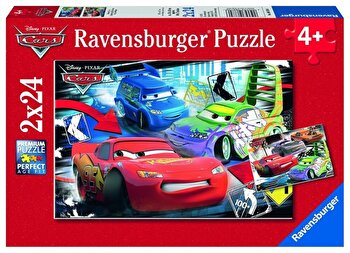 Puzzle 2 in 1 - Cars, 48 piese