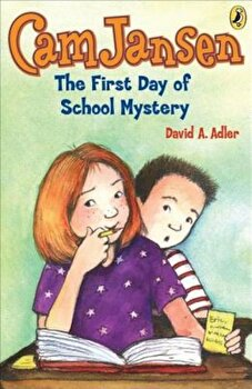 The First Day of School Mystery, Paperback/David A. Adler poza cate