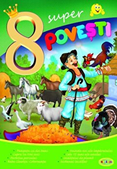 8 Super Povesti - Punguta Cu Doi Bani,.../***