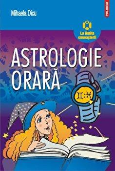 Astrologie orara-Mihaela Dicu imagine