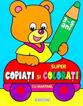 Coperta Carte Super copiati si colorati cu Martinel