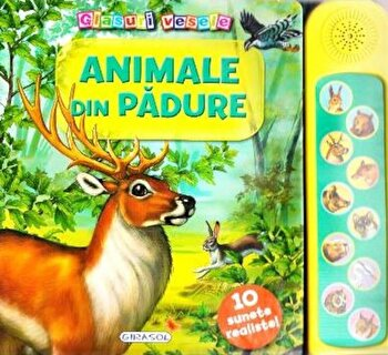 Glasuri vesele - Animale din padure/*** imagine elefant.ro