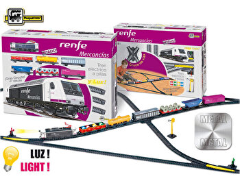 Set constructie - Trenulet electric marfa, Renfe