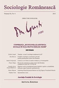 Sociologie Romaneasca. Vol. IX, Nr. 4/*** imagine