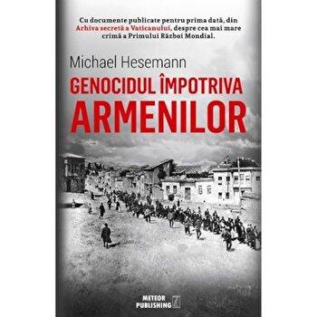 Coperta Carte Genocidul impotriva armenilor