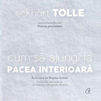 Cum sa ajungi la pacea interioara (AUDIOBOOK)/Eckhart Tolle imagine elefant.ro 2021-2022