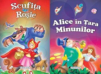 2 Povesti: Scufita rosie si Alice in Tara minunilor/*** imagine